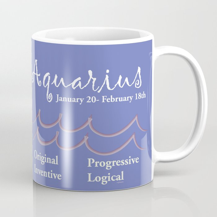 Aquarius February Coffee Mug