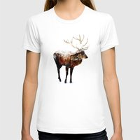 arctic monkeys T-shirts featuring Arctic Deer by Andreas Lie
