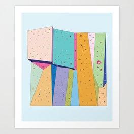 Crimp Wall Art Print