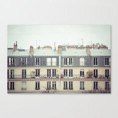 Parisian Canvas Print
