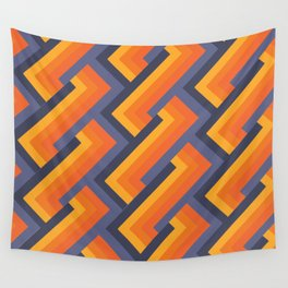 Rebirth Of The 70's No. 138 Wall Tapestry