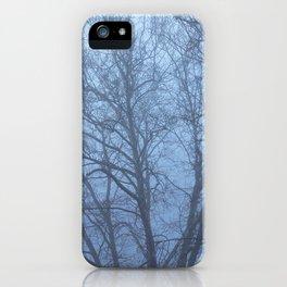 Trees in Fog iPhone Case