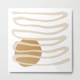 Sun Line Metal Print