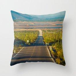 Carretera Throw Pillow