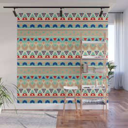 Ethnic ornament , 12 Wall Mural
