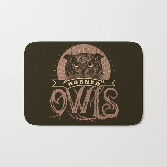 Team Owl Bath Mat