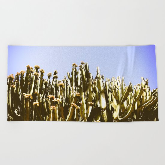 Sticky Cacti Beach Towel