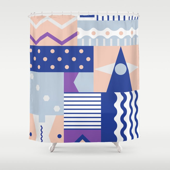 pause Shower Curtain