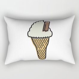 sOFFt set Ice cream Rectangular Pillow