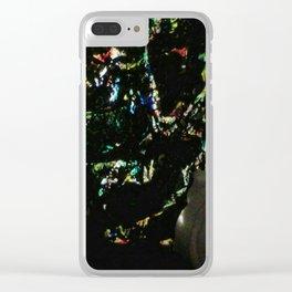 Angle de vue de nuit Clear iPhone Case