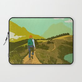WARM TRAILS Laptop Sleeve