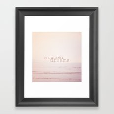 Summer Dreams  Framed Art Print