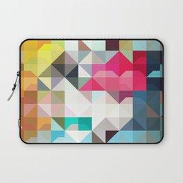 color story - pixelated warfare Laptop Sleeve