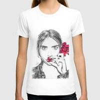 cara T-shirts featuring CARA  by Roxanne Jade Dentry