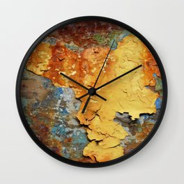 Colors of Rust 894 / ROSTart Wall Clock