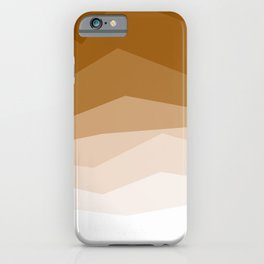Earth Waves Astract iPhone Case