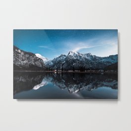 Austrian Mountains and Landscape Photography Metal Print