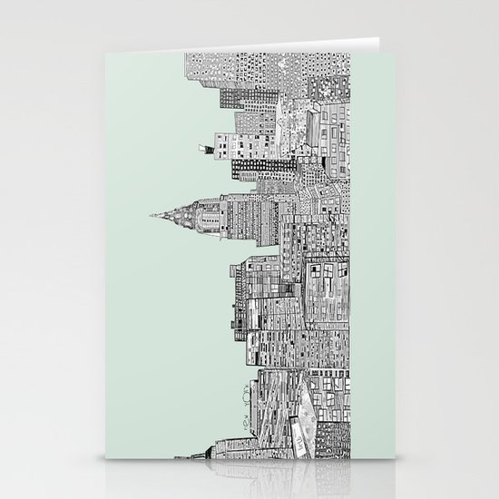 New York vintage  Stationery Cards