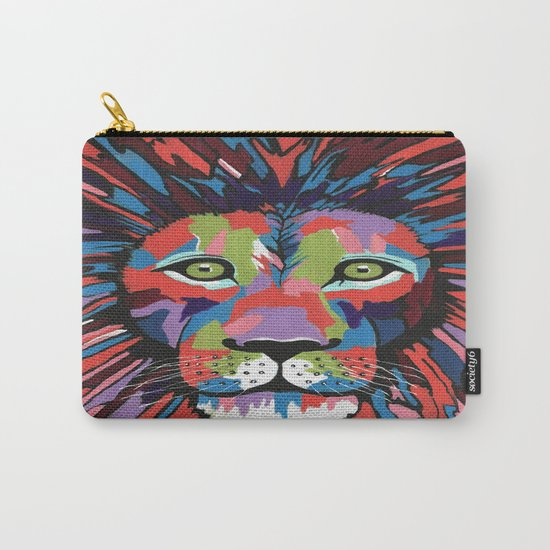 Flamboyant Lion Carry-All Pouch