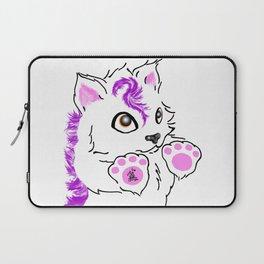 Snowfox - pink Laptop Sleeve