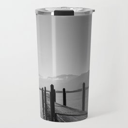 Lake Geneva Dock View Travel Mug