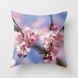 Dream pastell Bloosom Throw Pillow