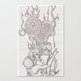 Smoke Rings Canvas Print