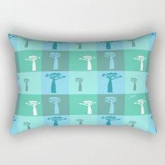 Baobab Azure Rectangular Pillow