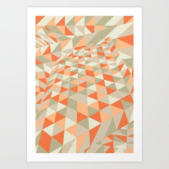 Triangulation Art Print
