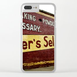 Mother's Flour Clear iPhone Case