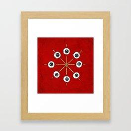 Circle of Hell Framed Art Print