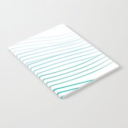 Blue Stripes Notebook