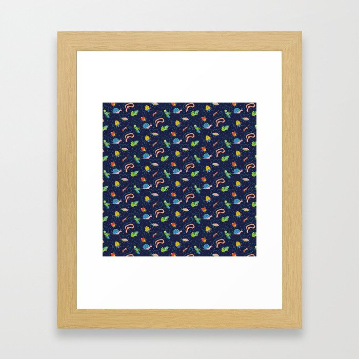 Bug Party Framed Art Print