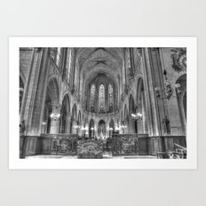 Chiesa Saint Germain l'Auxerrois Art Print