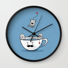 Exclusive Pool Party Wall Clock