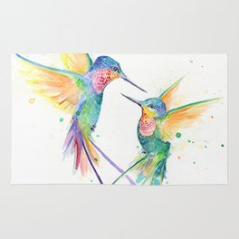 Hopeful Hummingbirds Rug