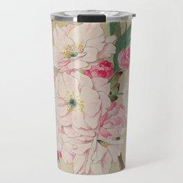 Fukurokuju - God of Longevity Cherry Blossoms Travel Mug