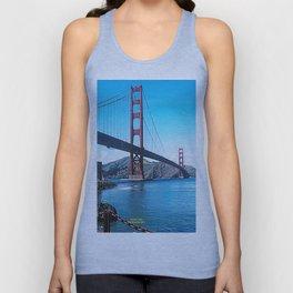 Golden Gate Unisex Tank Top