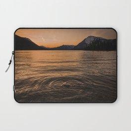Mountain Lake Sunset Reflections Nature Photography Laptop Sleeve