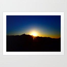 GWOC Sunset Art Print