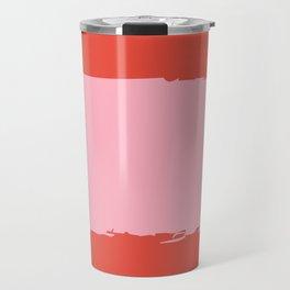 Crimson Swatch Travel Mug
