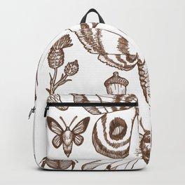 Natural History (Brown) Backpack