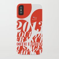 tour de france iPhone & iPod Cases featuring King of the Mountains: Tour de France 2013 by Dushan Milic