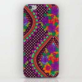 Ivy Purple iPhone Skin