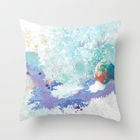 snail Throw Pillows featuring Snail by ARTION
