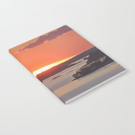 Swedish Archipelago Sunset Notebook