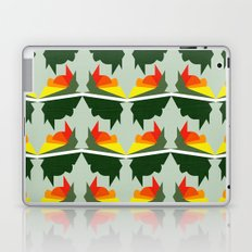 Burning Ships Laptop & iPad Skin