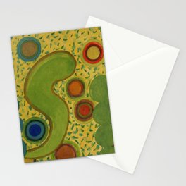 Grouping Circles Stationery Cards