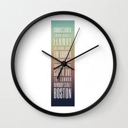 Day 24 - Boston Design Marathon Wall Clock