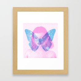 Dreaming of Butterfly Framed Art Print